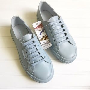 Superga || Leather Casual Sneaker Size 8